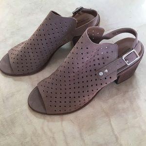 Melrose and Market leather slingback sandals
